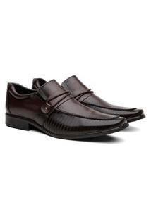 Sapato Social Masculino Proença Bico Quadrado Elegante Preto 39