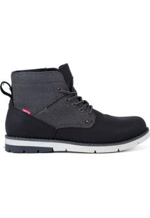 Bota Levis Masculina Work Boots Jax Preta