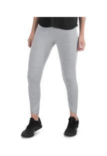 Calça Legging Nike Yoga Wrap 7/8 Tight - Feminina - Cinza Claro