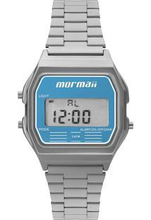 Relógio Mormaii Digital Maui Vintage Mojh02Az3A Prata - Kanui