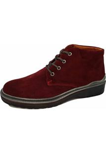 Bota Sartre Casual University Vinho