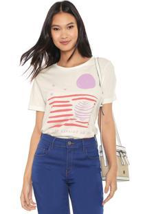 Camiseta Cantão Lua Off-White