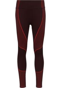Sweaty Betty Legging Esportiva Sem Costura - Vermelho