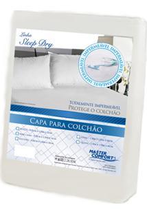 Cama Casal - Capa Protetora Impermeável Para Colchão Casal