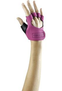 Luva De Neoprene Pink P/ Musculação Hidrolight - Unissex