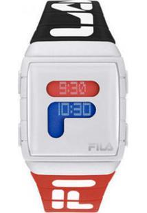 Relógio Digital Esportivo - Preto E Vermelho