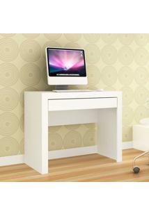 Mesa Para Computador Com 1 Gaveta 421 - Movelbento - Branco