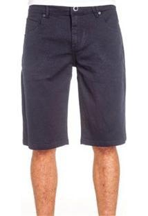 Bermuda Volcom Jeans Navy Vorta Masculina - Masculino-Marinho