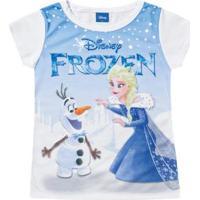 Blusa Para Menina Disney Frozen infantil  def7e6b8016