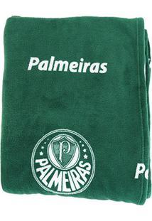 Manta Palmeiras Soft Solteiro - Unissex