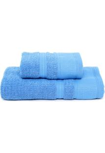 Jogo De Banho 2Pçs Buddemeyer Windsor Azul