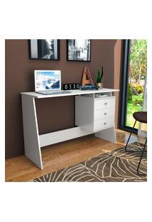 Mesa Escrivaninha Nova Mobile Maceió Com 3 Gavetas