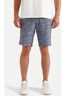 Bermuda Reserva Ft Forro Meia Malha Flame Masculina - Masculino-Jeans