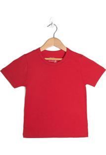 Camiseta Infantil Rovitex Menino Vermelho - 4