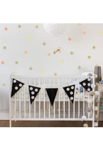 Adesivo De Parede Quartinhos Infantil Estrelas Verdes