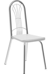 Kit 2 Cadeiras 182 Napa Móveis Carraro Branco