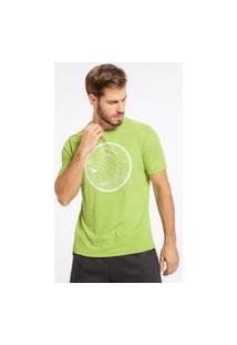 Camiseta Optical Circle - Verde - Live!
