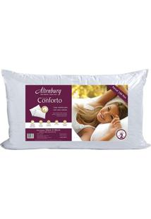 Travesseiro Conforto- Branco- 90X50Cm- Altenburgaltenburg