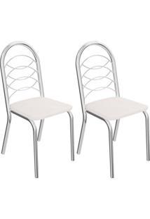 Kit Com 2 Cadeiras Kappesberg Holanda - 2C009Cr