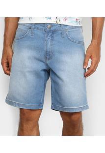 Bermuda Jeans Colcci Benjamin Masculina - Masculino-Azul