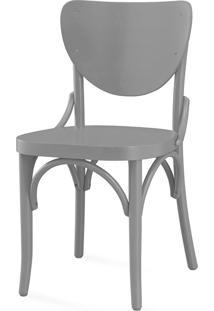 Cadeira De Jantar Eléonore Laca Cinza Concreto - 44X49,5X82,5 Cm