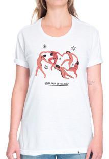 A Dança #Cestabasica - Camiseta Basicona Unissex