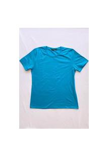 Camiseta Gorgeous Flower Power Azul