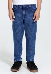 Calça Infantil Jeans Marmorizada Marisa