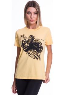 Camiseta Jazz Brasil Dolar Amarela
