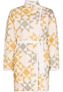 Isabel Marant Étoile Sandrine Geometric Quilted Jacket - Neutro