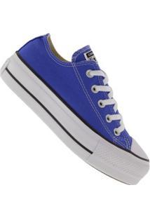 Tênis Converse All Star Chuck Taylor Plataforma - Feminino - Azul