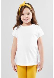 Camiseta Mini Reserva Mini Feminina - Feminino-Branco