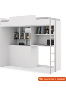 Cama Multifuncional Office New Branca
