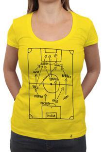 Super Star Soccer Deluxe - Camiseta Clássica Feminina