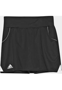 Saia Short Infantil Adidas Club Skirt - Feminino-Preto