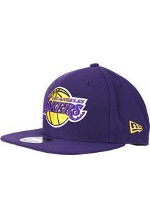 Boné New Era Nba Los Angeles Lakers Aba Reta 950 Of Sn Primary Otc - Unissex 7c7718b8724