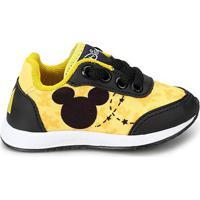 51ea28a3a7b Tênis Infantil Disney Mickey Masculino - Masculino-Amarelo+Preto