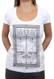 Libra - Camiseta Clássica Feminina
