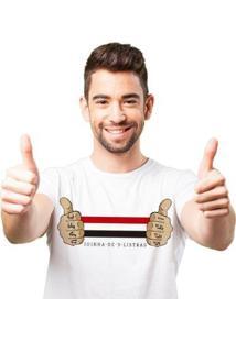 Camiseta Zé Carretilha - Sao-Tricolor-Joinha Masculina - Masculino