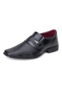 Sapato Social Giolo 836 Preto Fosco
