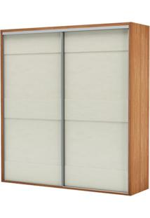 Armario Premium Com 2 Portas E 2 Gavetas Cor Freijo Com Off White Brilho 2,23 Mt (Larg) - 56456 - Sun House