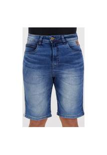 Bermuda Jeans Fatal Classic Azul