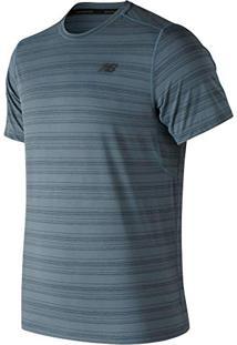 Camiseta De Manga Curta New Balance Antecipate  c6a43920fdd49