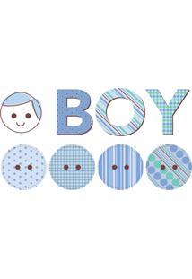 Adesivo De Parede Para Quarto De Bebê Boy - Tricae