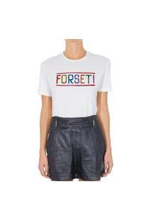 Camiseta Forseti Pet Bonfim Branca