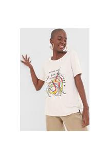 Camiseta Cantão Perspectivas Off-White