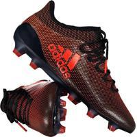 Chuteira Adidas X 17.1 Fg Campo Preta cdf2d72d7fa8d