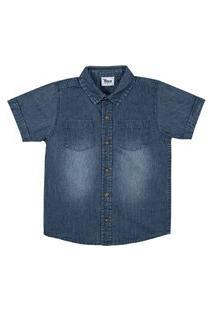 Camisa Infantil Masculina Trick Nick Cinza