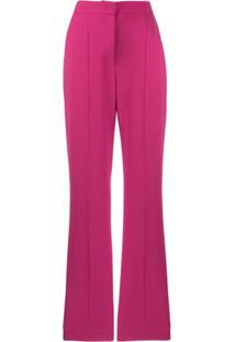Escada Sport Flared Tailored Trousers - Rosa