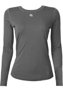 Camisa Térmica Kanxa Baby Look Com Proteção Bactericida E Fator Proteção  Solar Uv50 5884 - Feminino 51df76fea0187